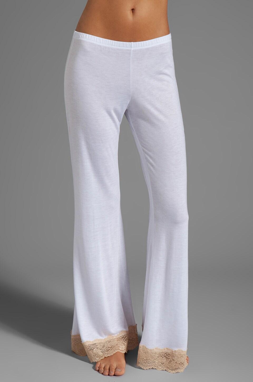 eberjey Bardot Pant in White