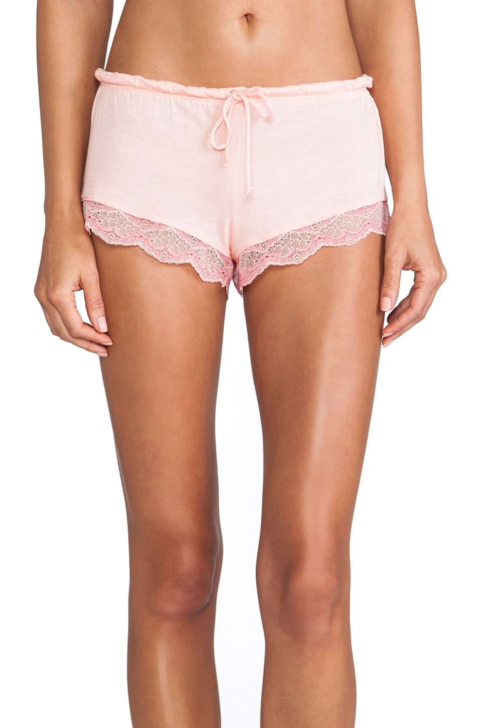 eberjey Millie Shorts in Melon Rose/Pink