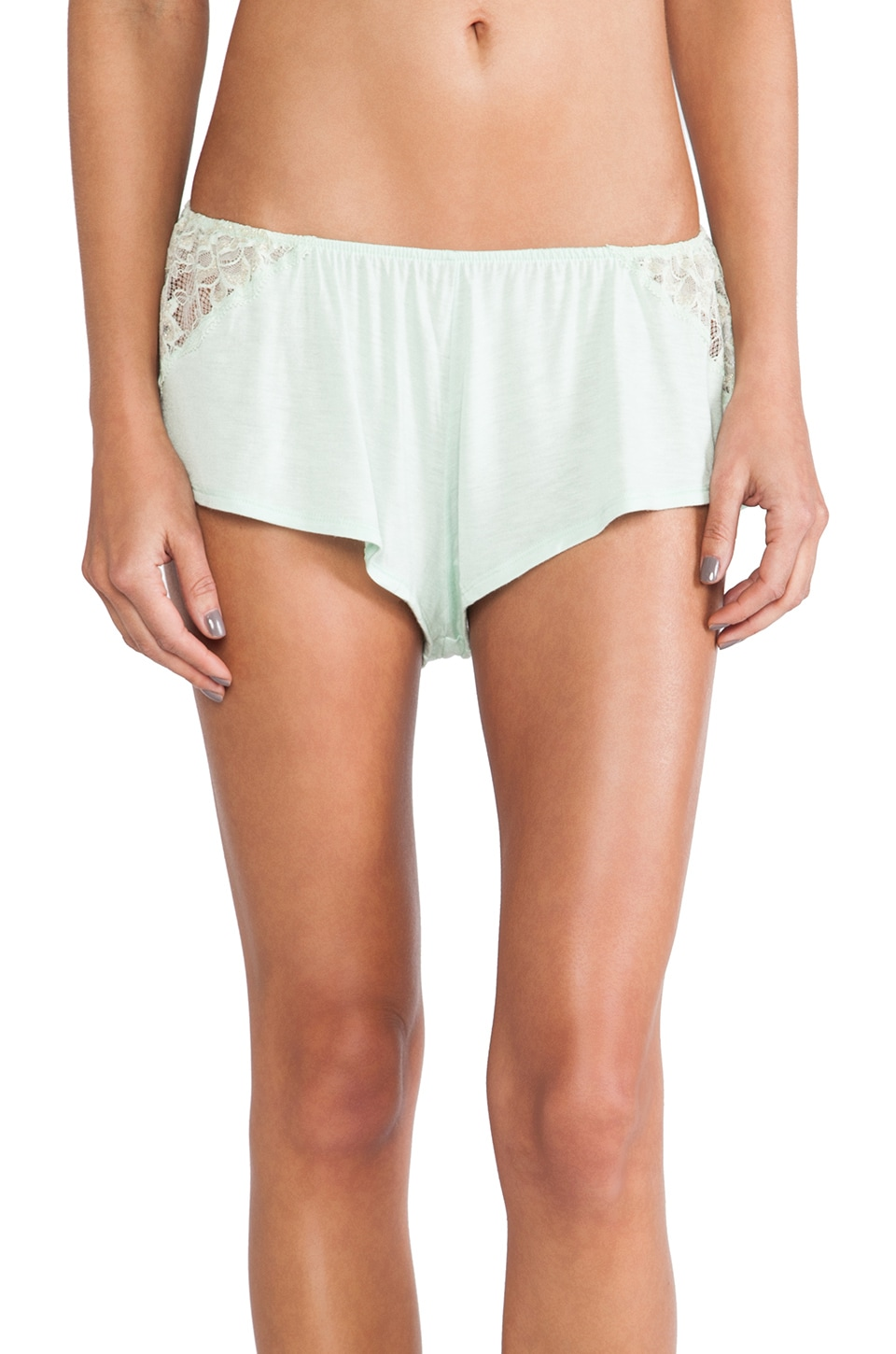 eberjey Golden Girl Tap Pant in Pistachio
