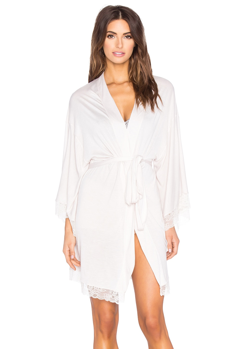 eberjey Enchanted Kimono Robe in Lotus