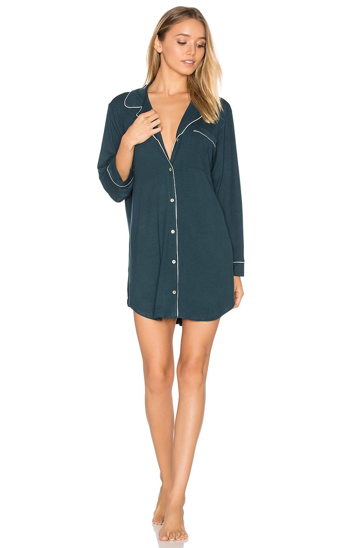 eberjey Gisele Sleepshirt in Evergreen