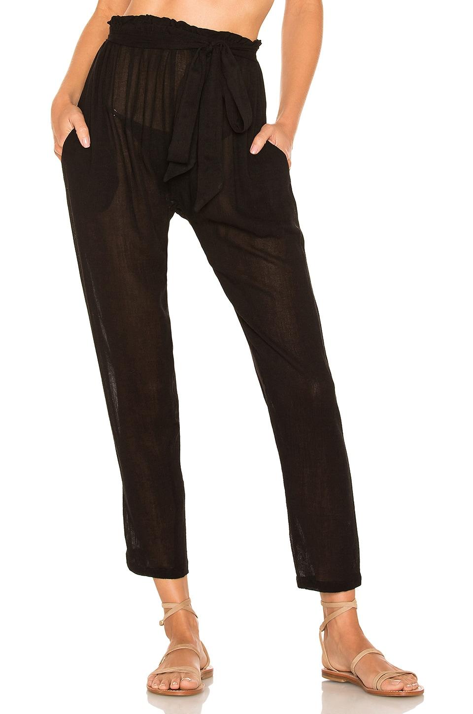 eberjey Summer Of Love Hudson Pant in Black