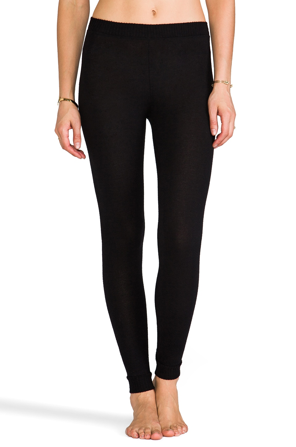 eberjey Cozy Time Legging in Black