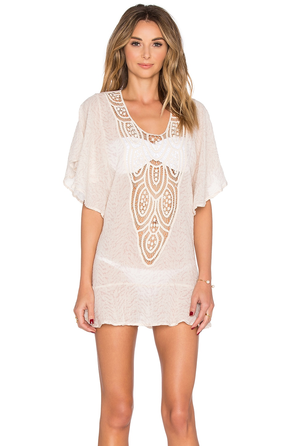 Sand Waves Malena Cover Up by eberjey