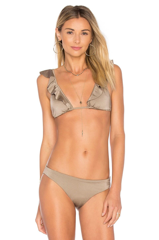 c77b861ababcb eberjey Beach Glow Grayson Bikini Top in Tobacco   REVOLVE