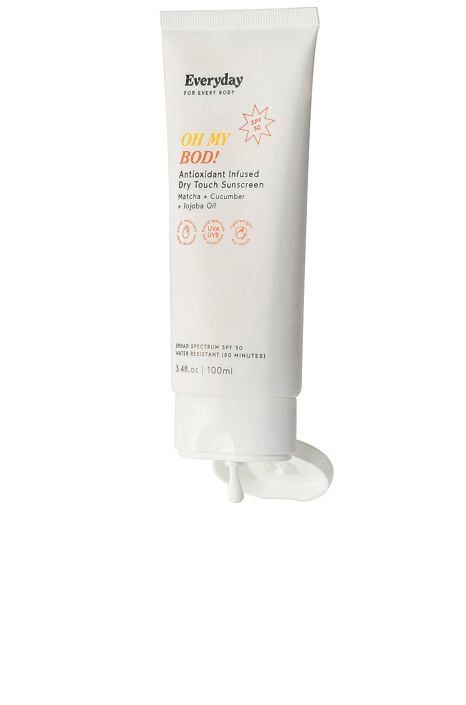Everyday for Every Body OH MY BOD! Antioxidant Infused Dry Touch Sunscreen