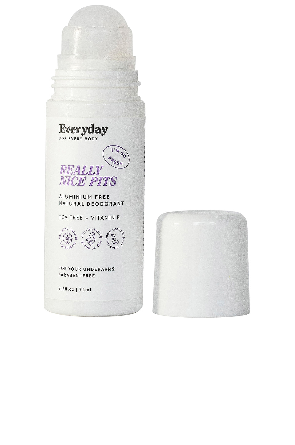Everyday for Every Body REALLY NICE PITS Aluminum Free Natural Deodorant
