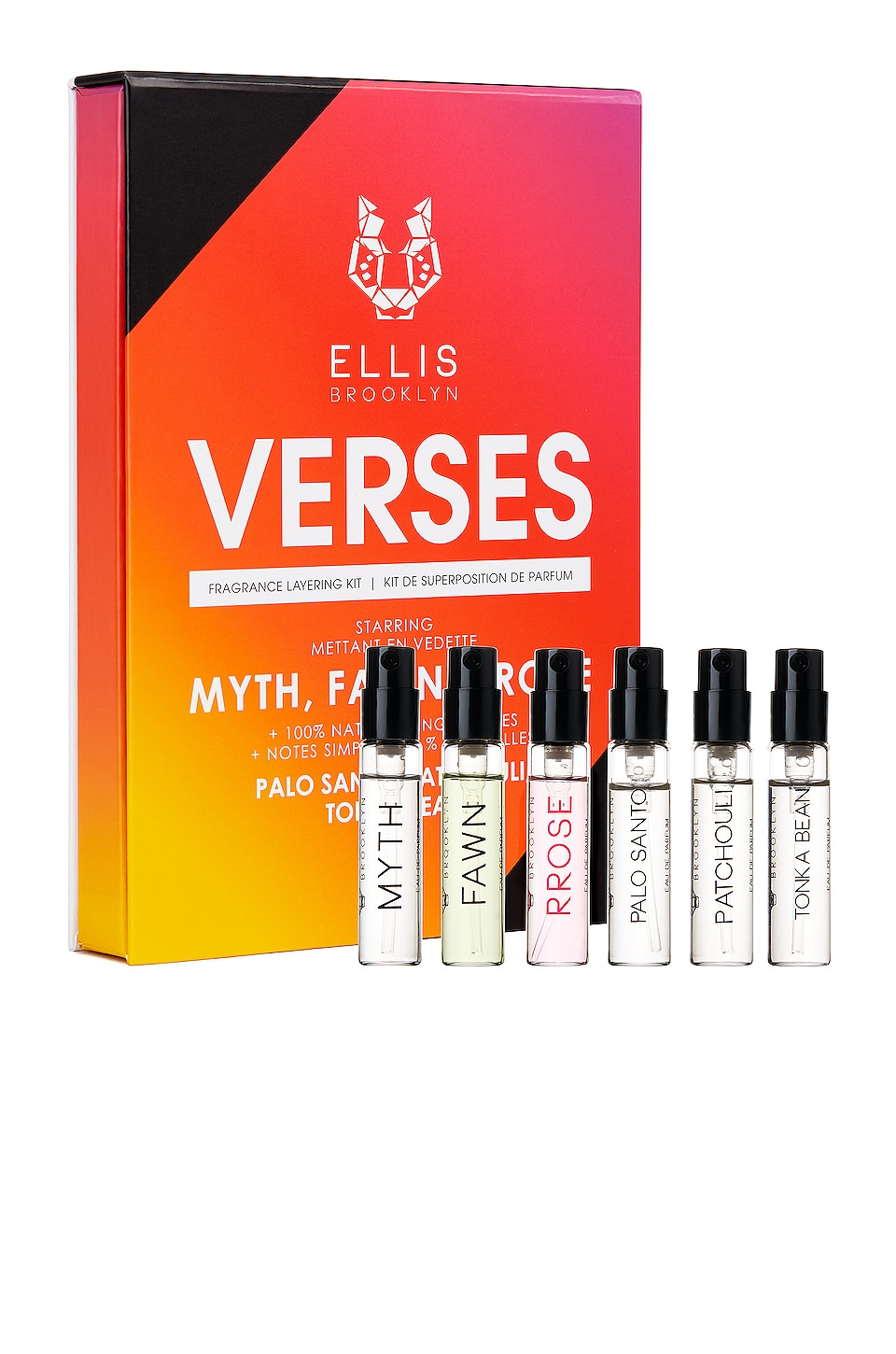 Ellis Brooklyn Verses Fragrance Layering Kit