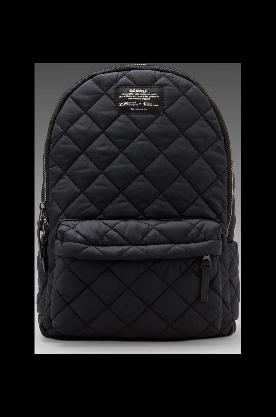 ECOALF Oslo Backpack Quilted en Noir