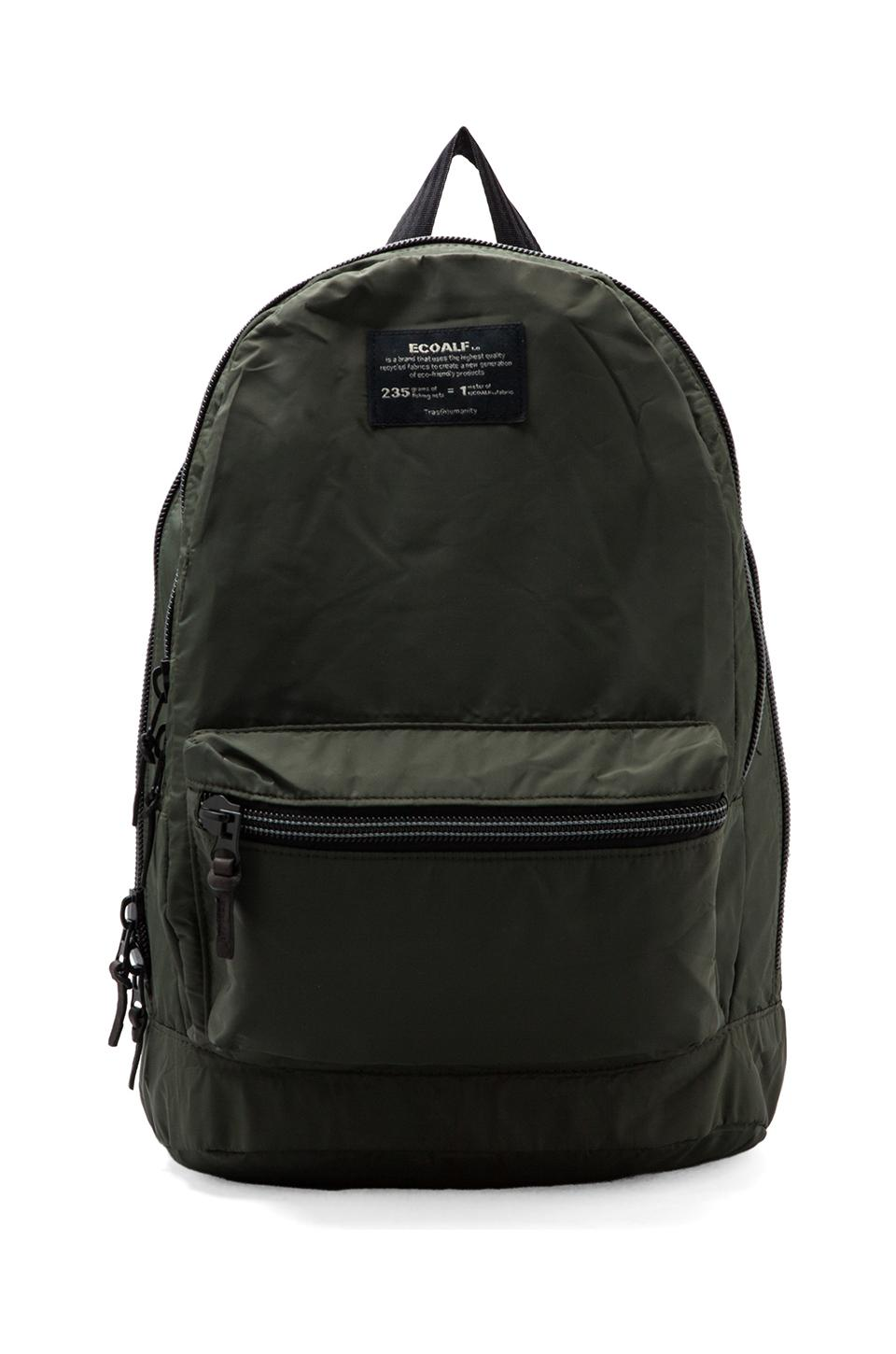 ECOALF Munich Backpack in Dark Khaki