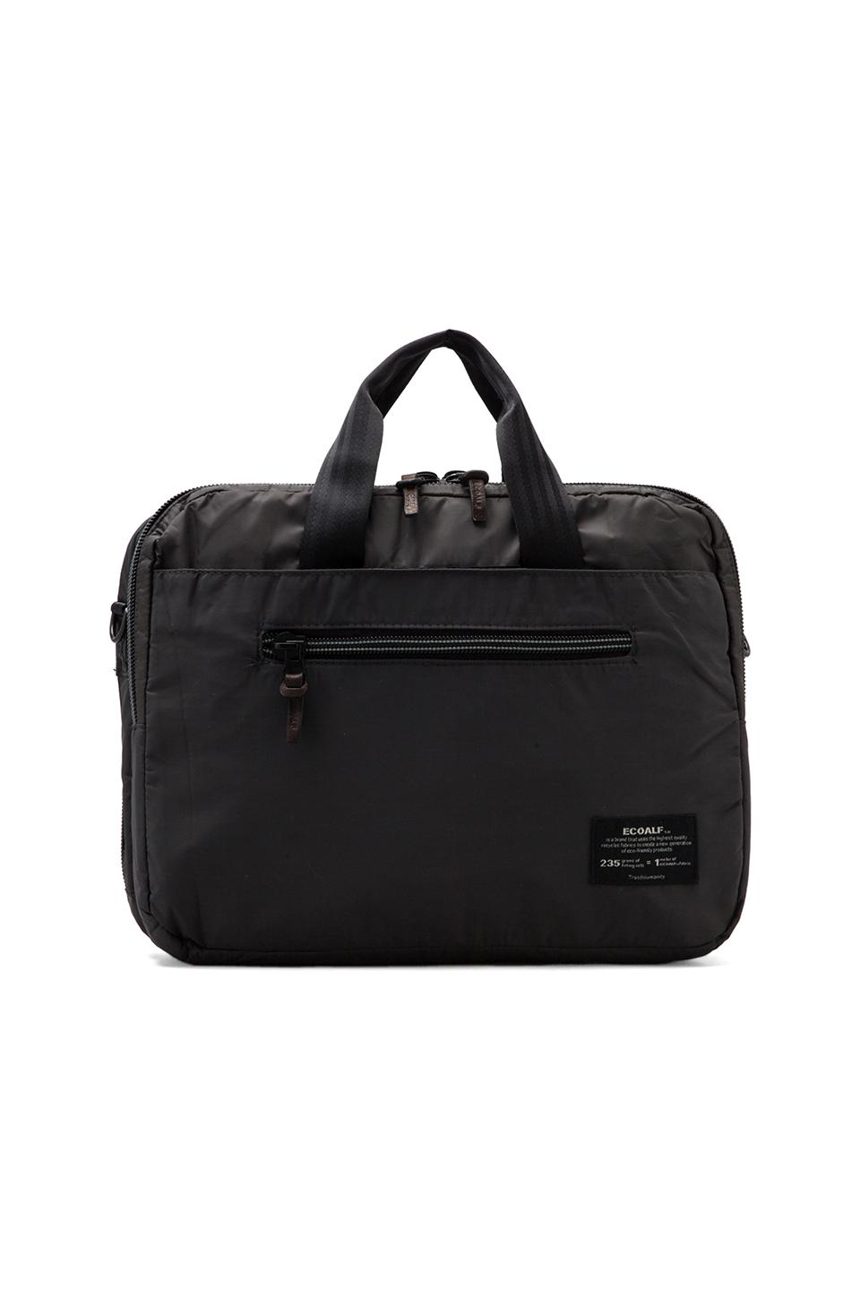 ECOALF Cambridge Organizer Backpack en Anthracite