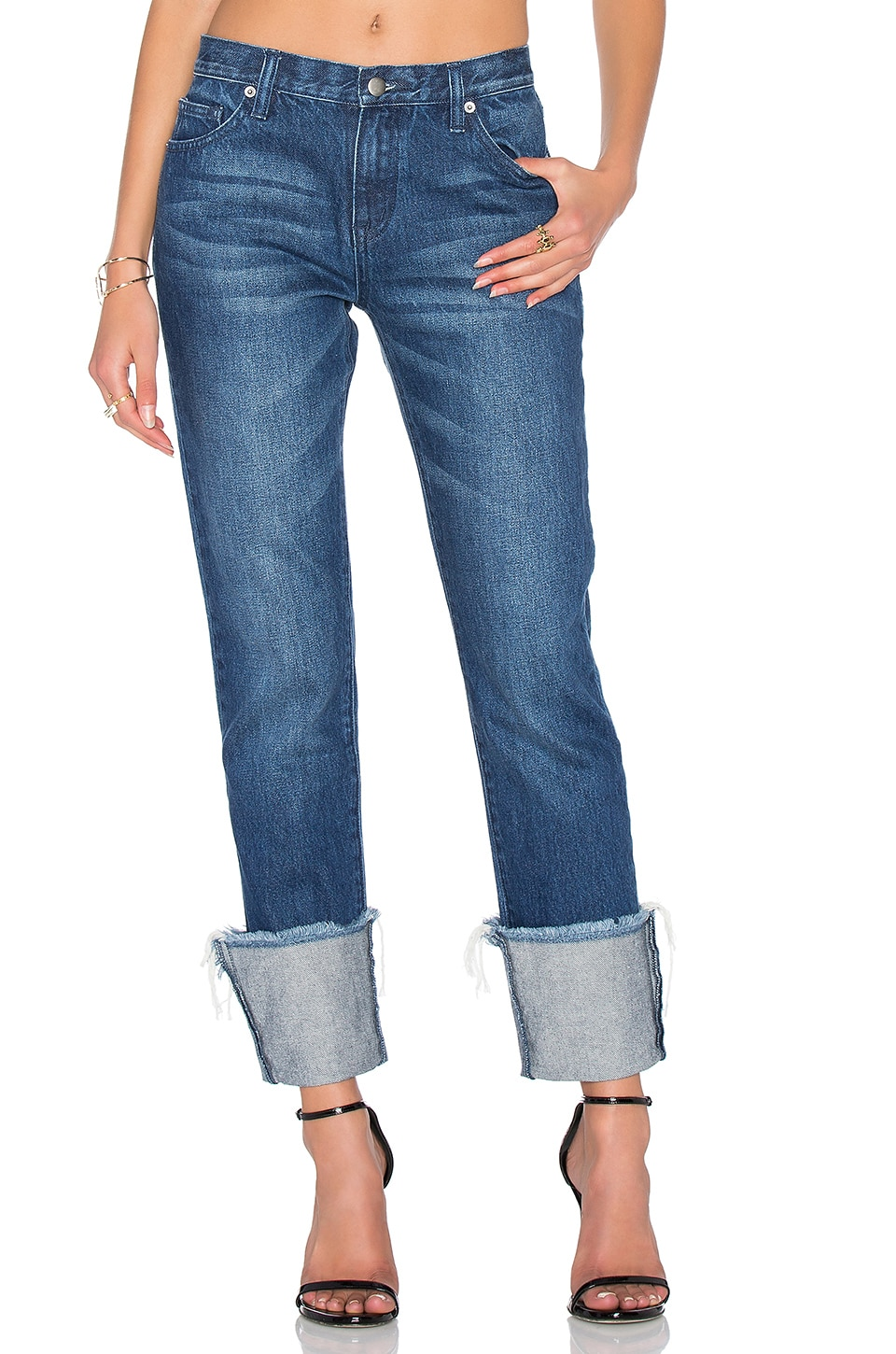 Turn Up Boyfriend Jean by EDIT