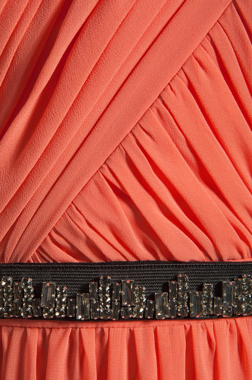 ERIN erin fetherston Skyscraper Gown in Fusion Coral
