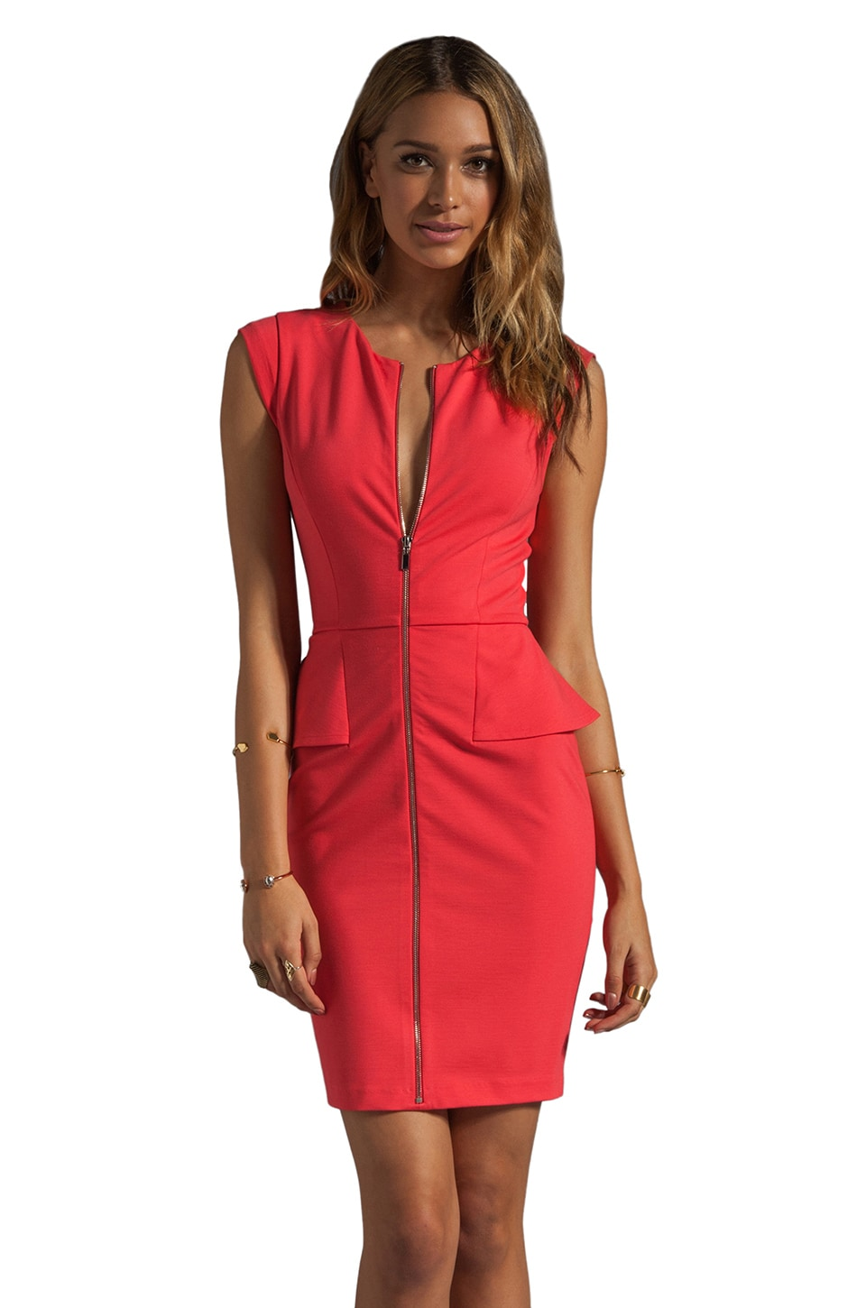 ERIN erin fetherston Yvette Dress in Paradise Pink