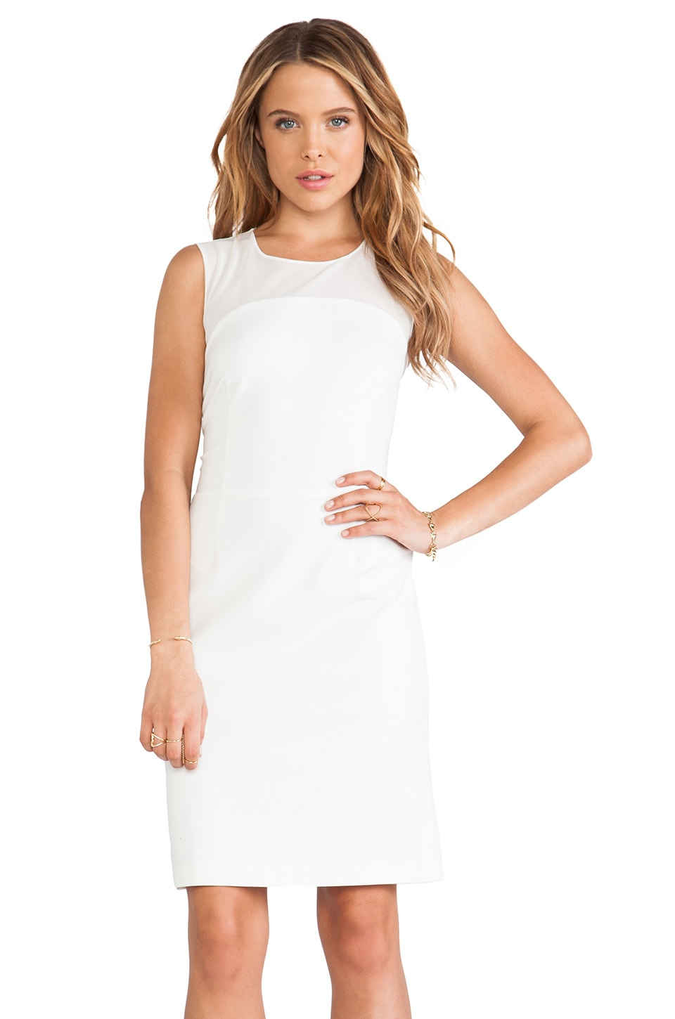 ERIN erin fetherston Angele Dress in White