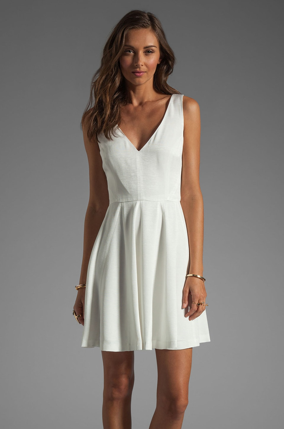 ERIN erin fetherston Soiree Dress in White