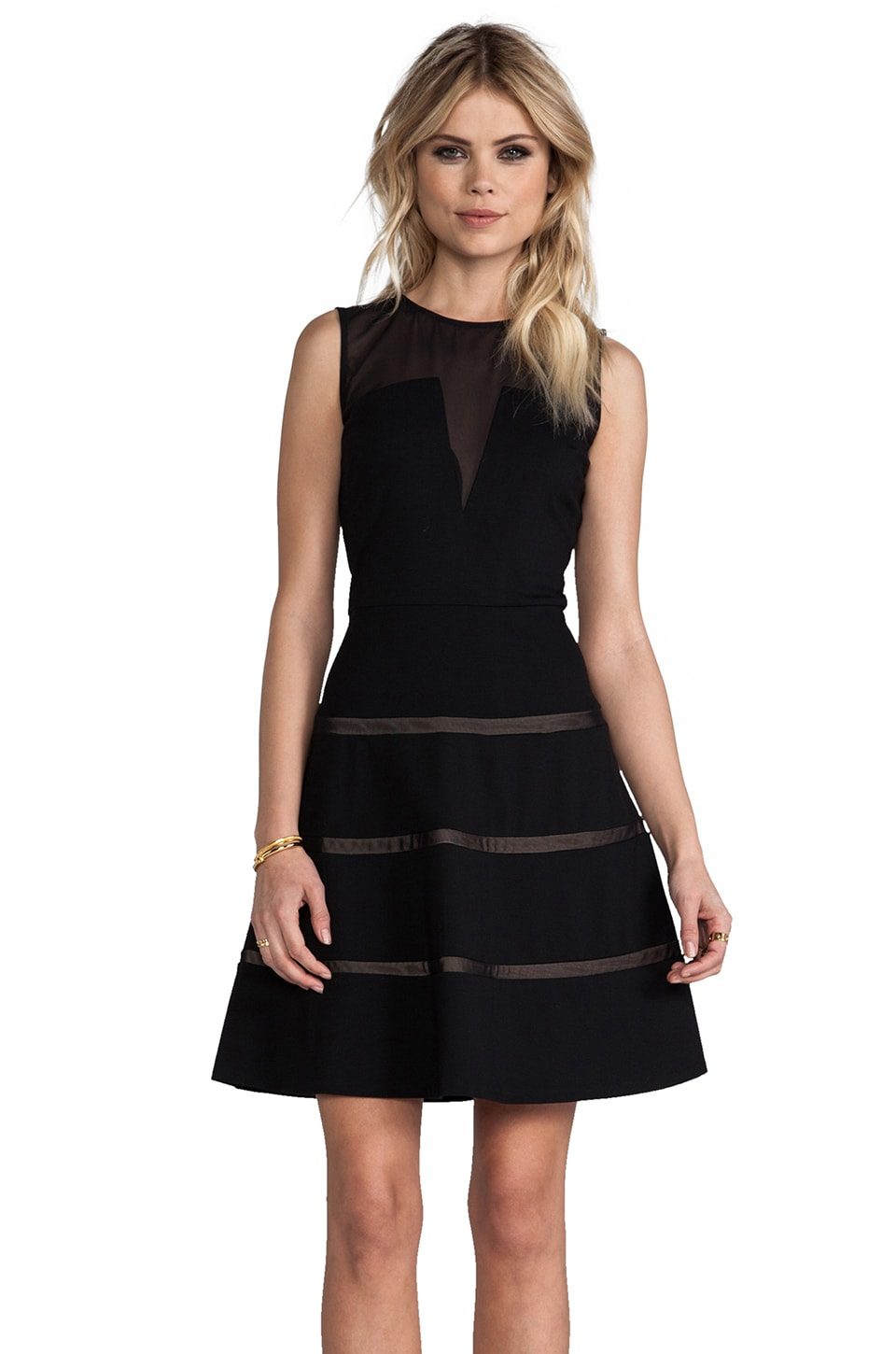 ERIN erin fetherston Hannah Dress in Black