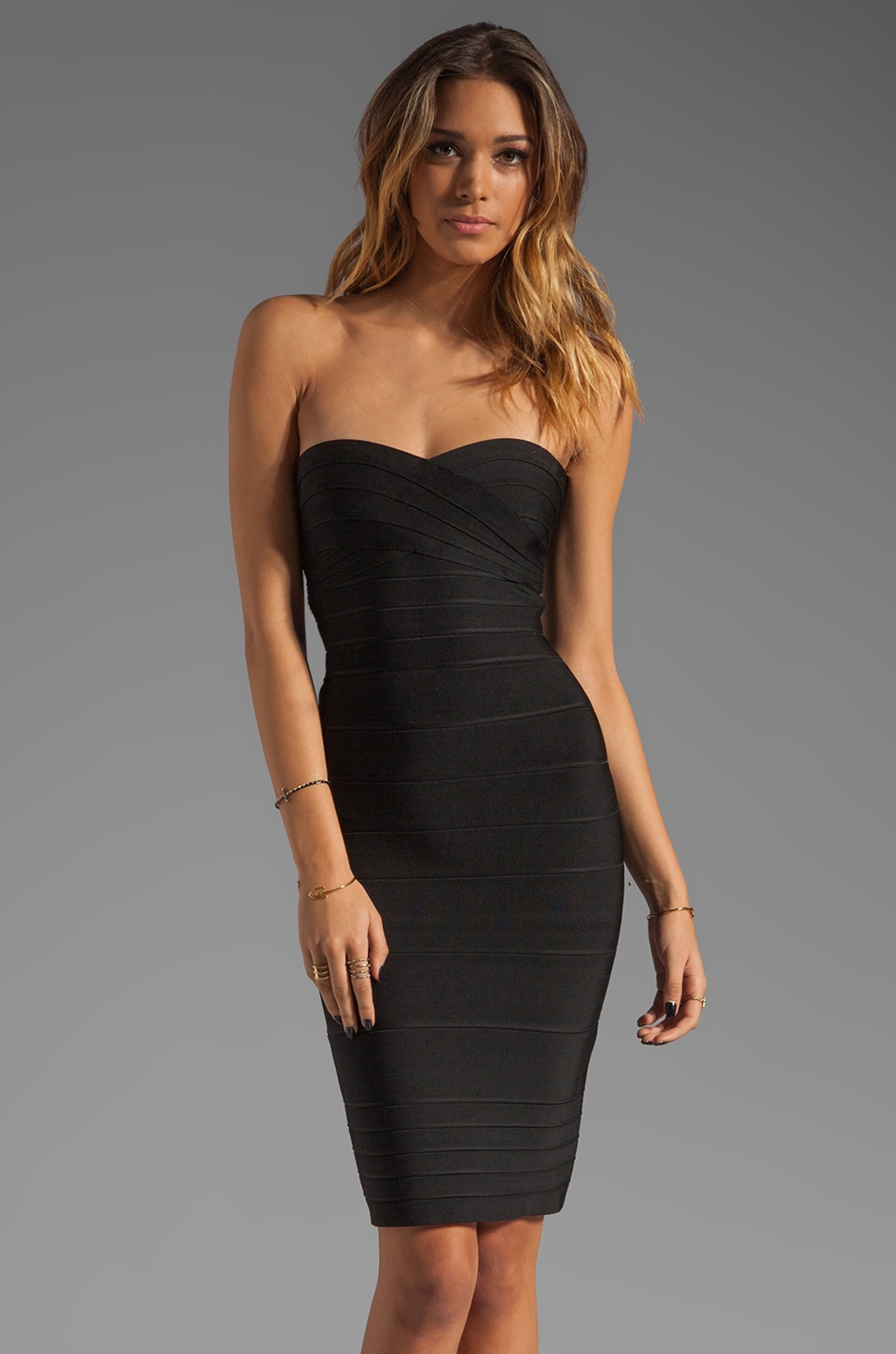 ERIN erin fetherston Danielle Dress in Black