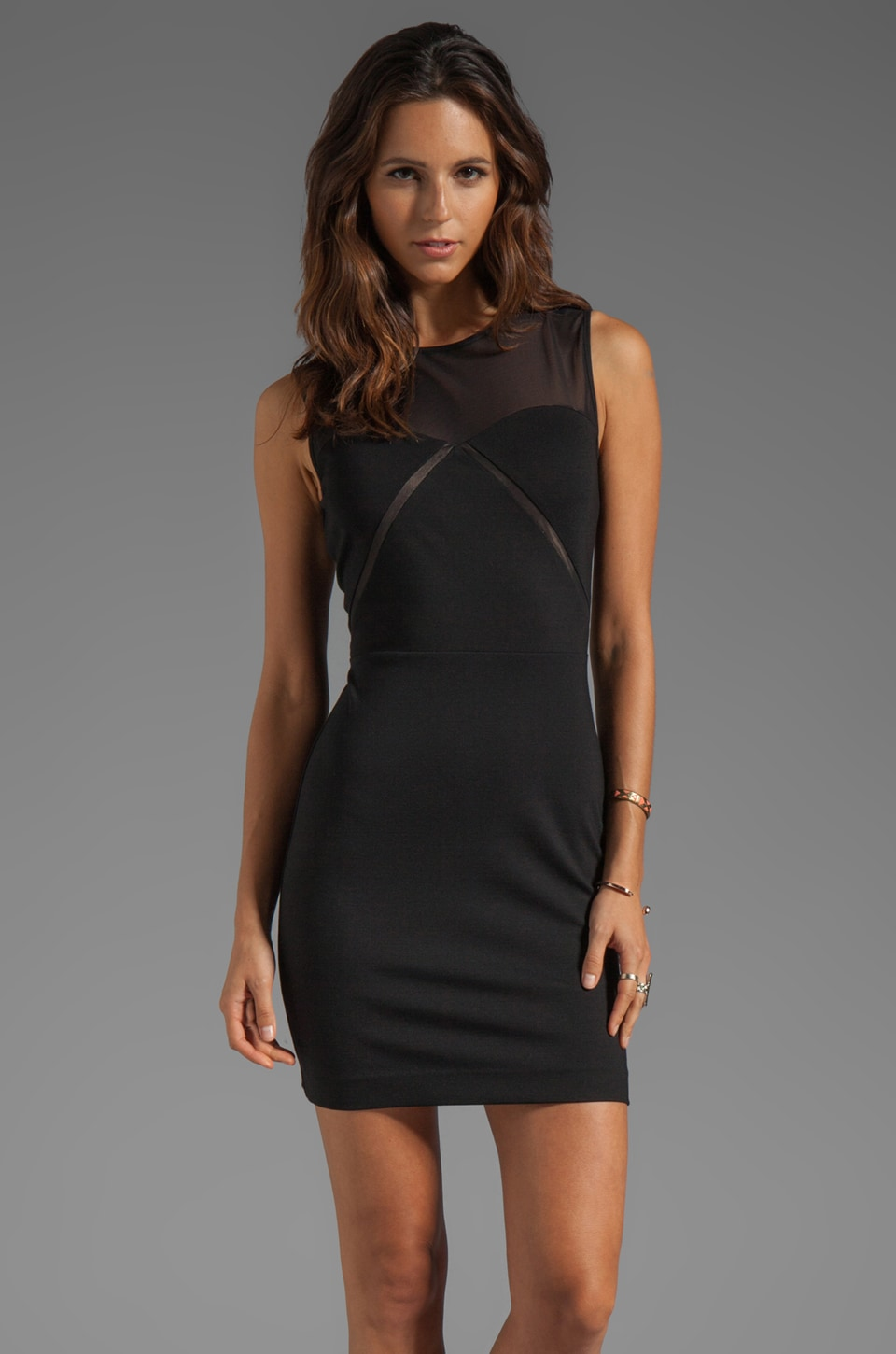 ERIN erin fetherston Chiara Dress in Black