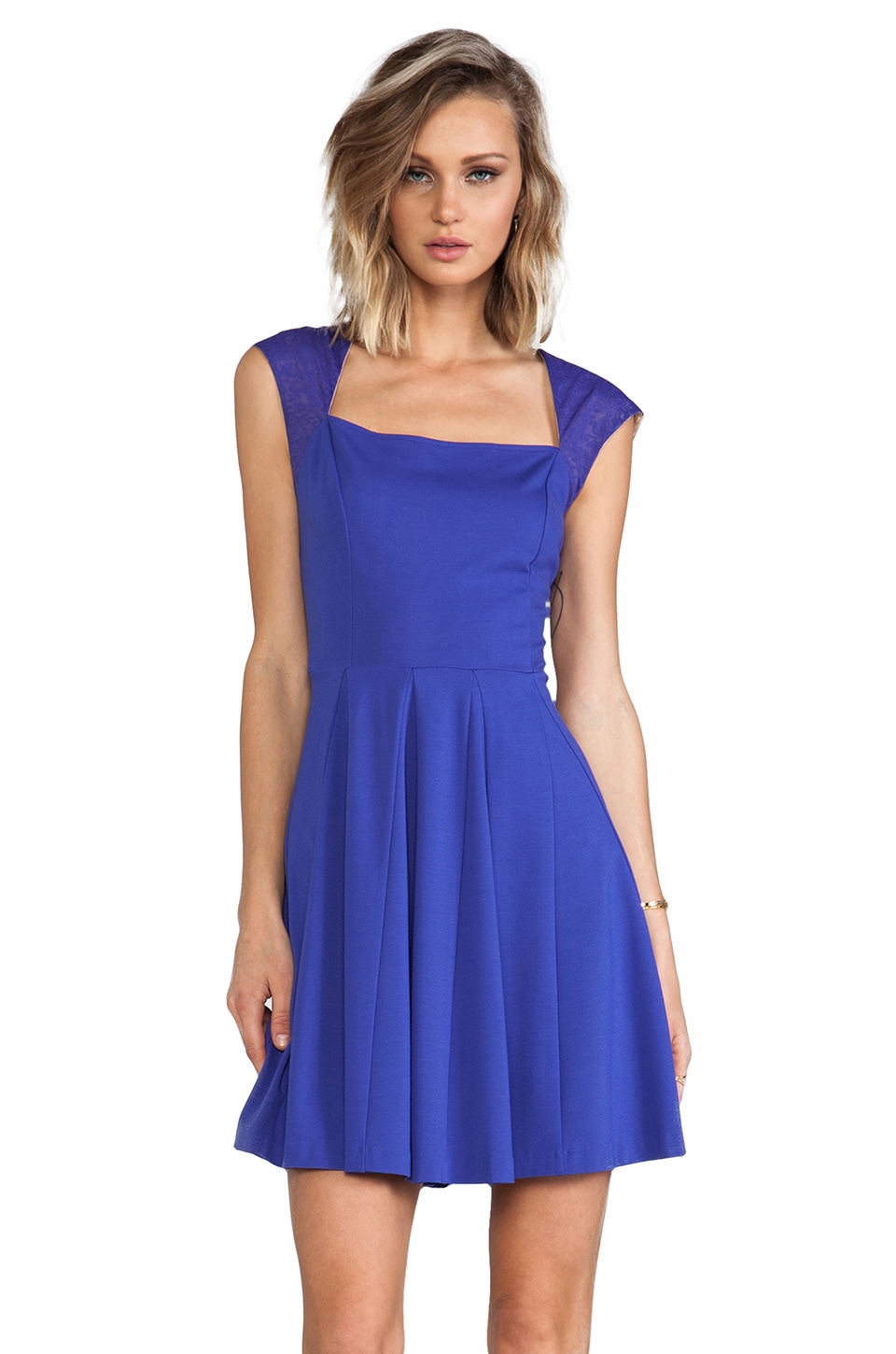 ERIN erin fetherston Elena Dress in Spectrum Blue