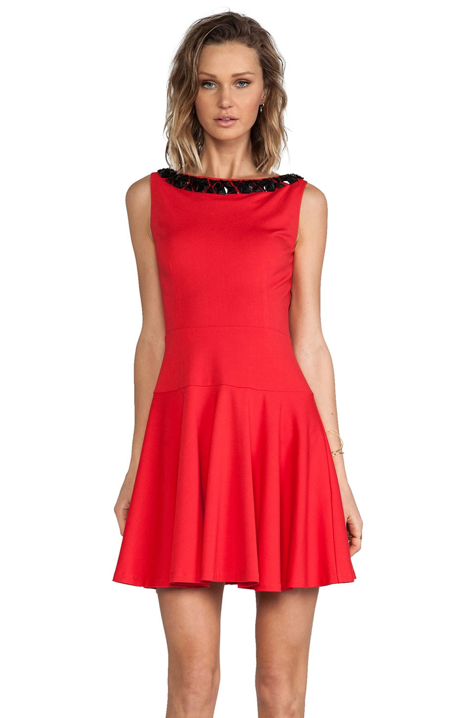 ERIN erin fetherston Elenor Dress in Ruby Red