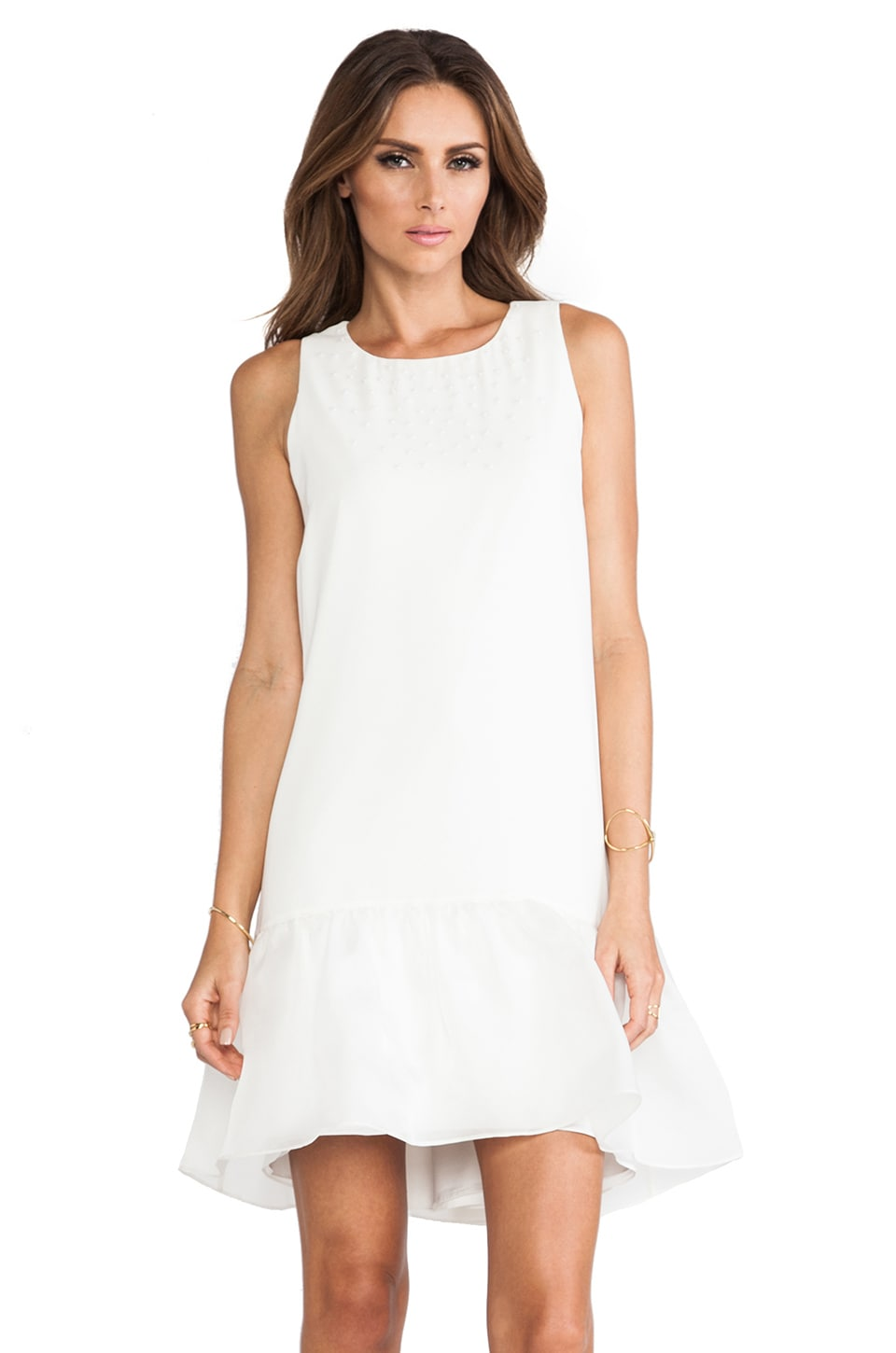 ERIN erin fetherston Daisy Dress in Ivory