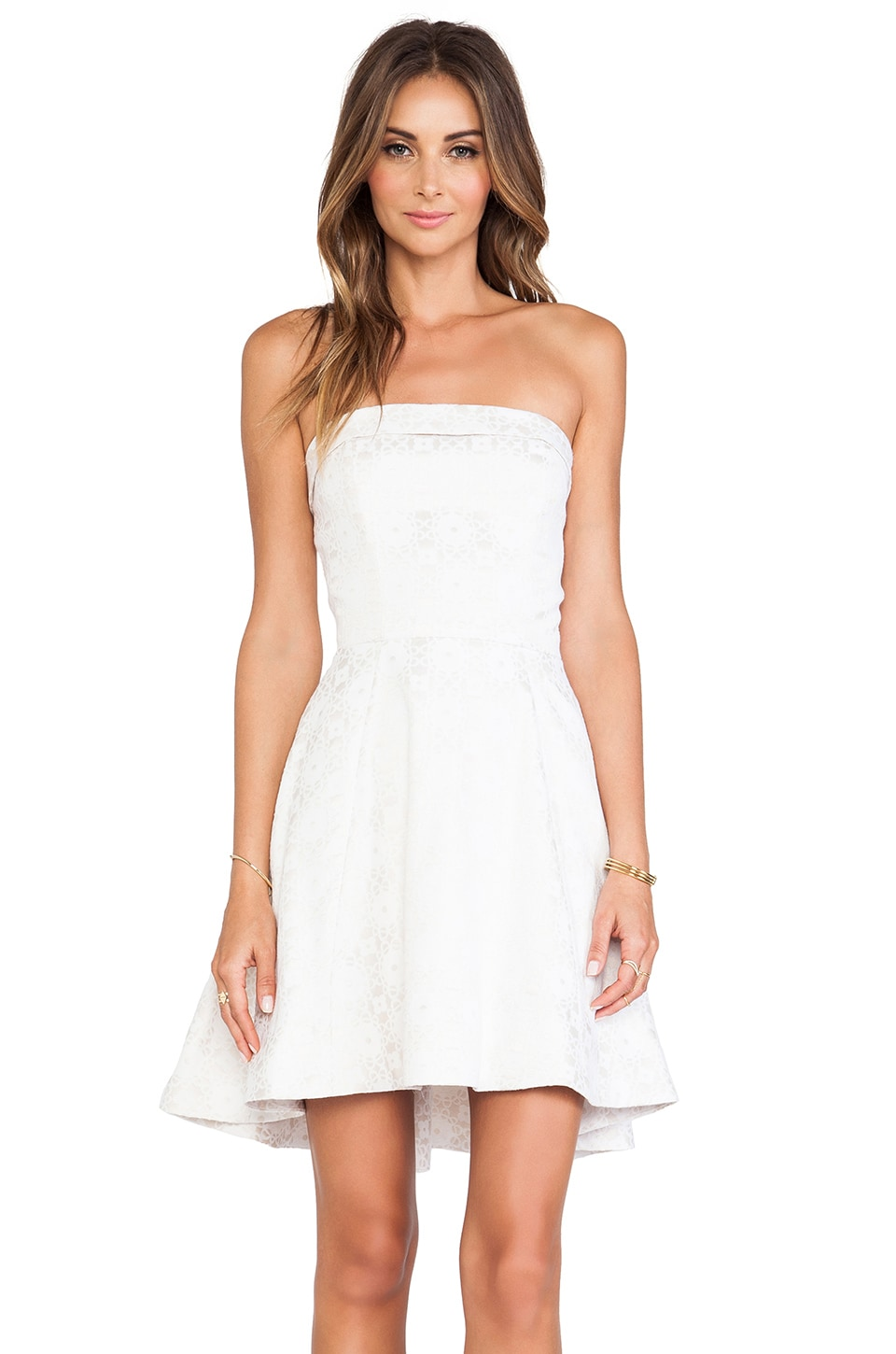 ERIN erin fetherston Grace Dress in Ecru