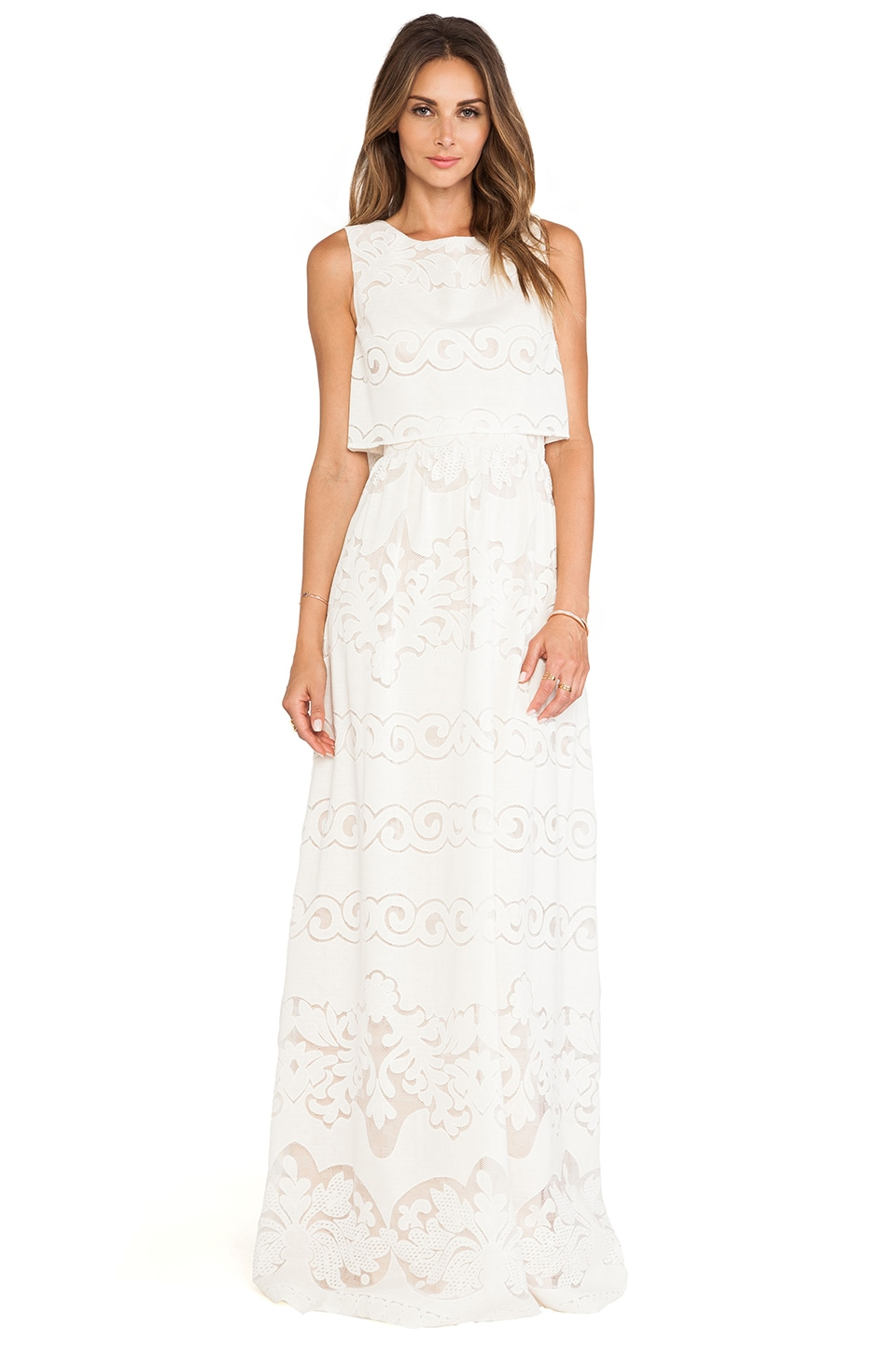 ERIN erin fetherston Judy Gown in Ivory