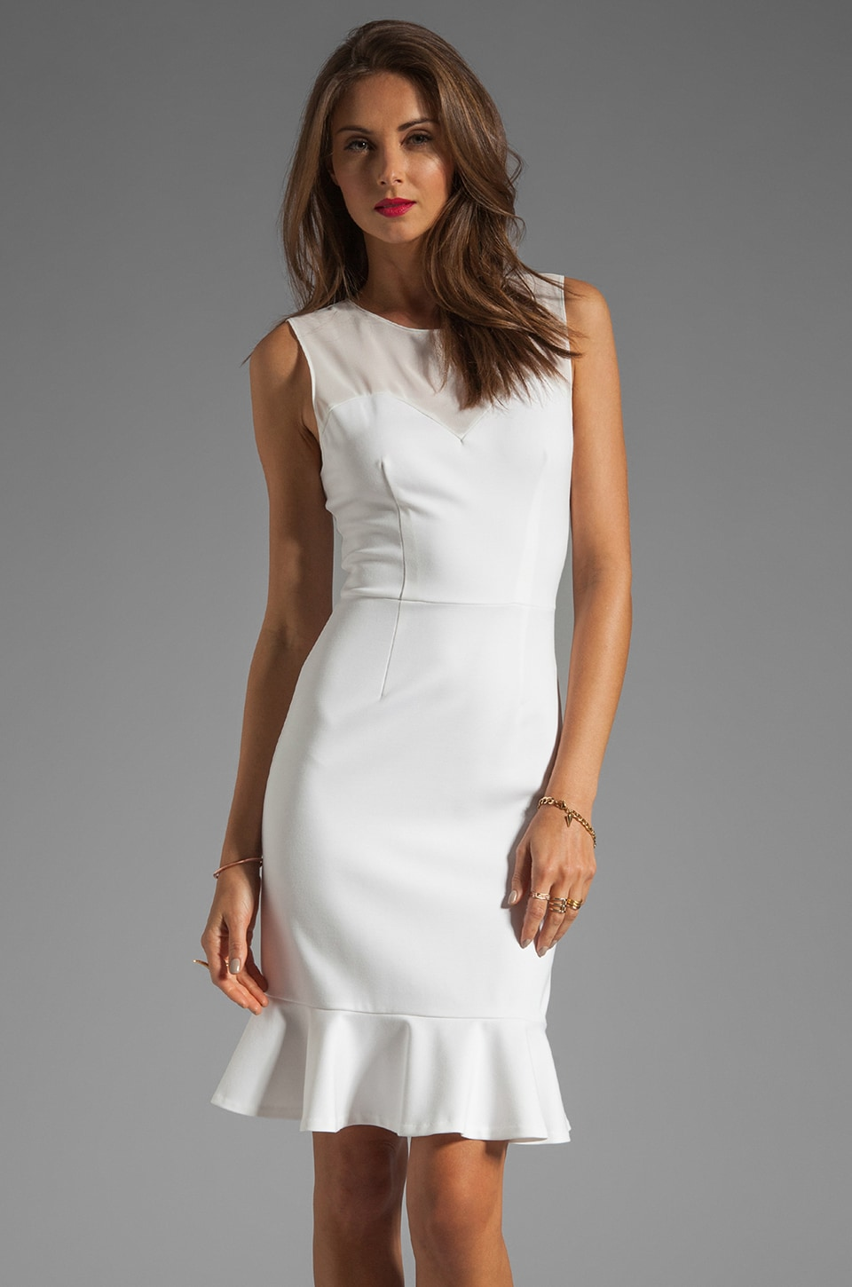 ERIN erin fetherston RUNWAY Madeline Dress in White