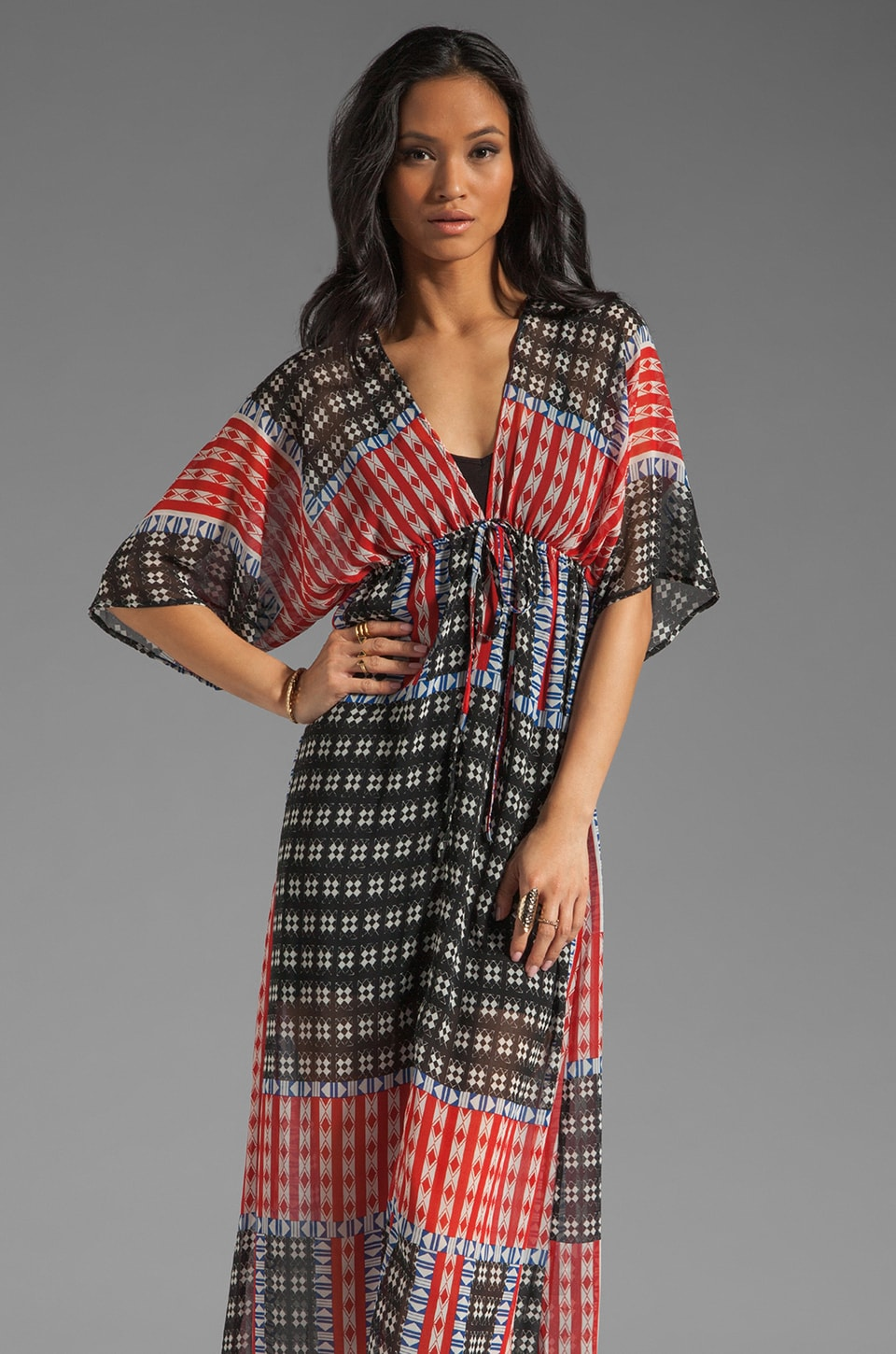 Eight Sixty Diamond Blocks Maxi in Multi