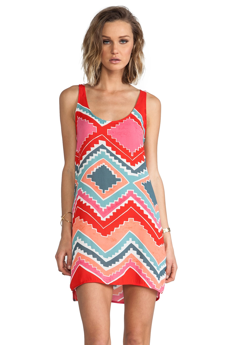 Eight Sixty Rosarita Dress in Grenadine/Coral
