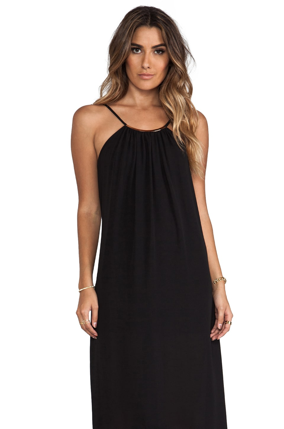 Eight Sixty REVOLVE Exclusive Necklace Dress in Black