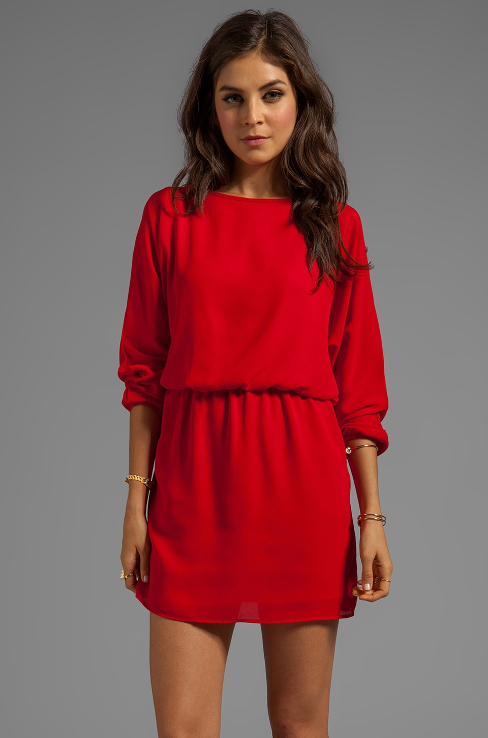 Eight Sixty Dress in Red