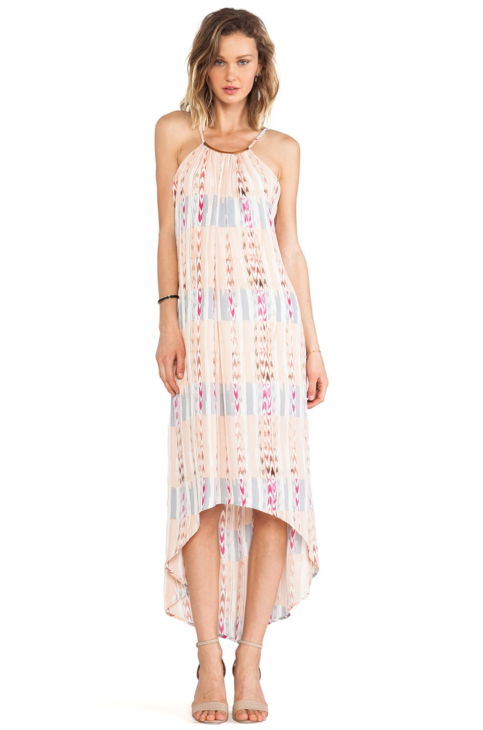Eight Sixty Halter Dress in Tribal Tan