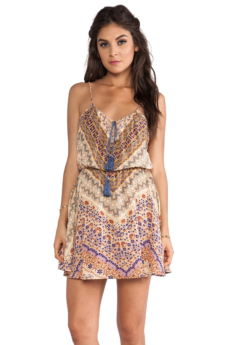 Eight Sixty Tank Dress in Sienna Print