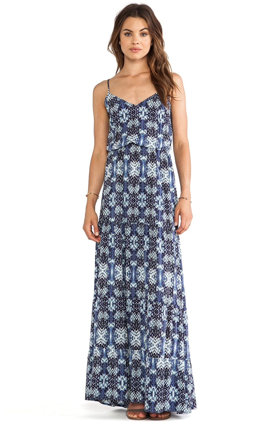 Eight Sixty Maxi Dress in Wisteria & Multi