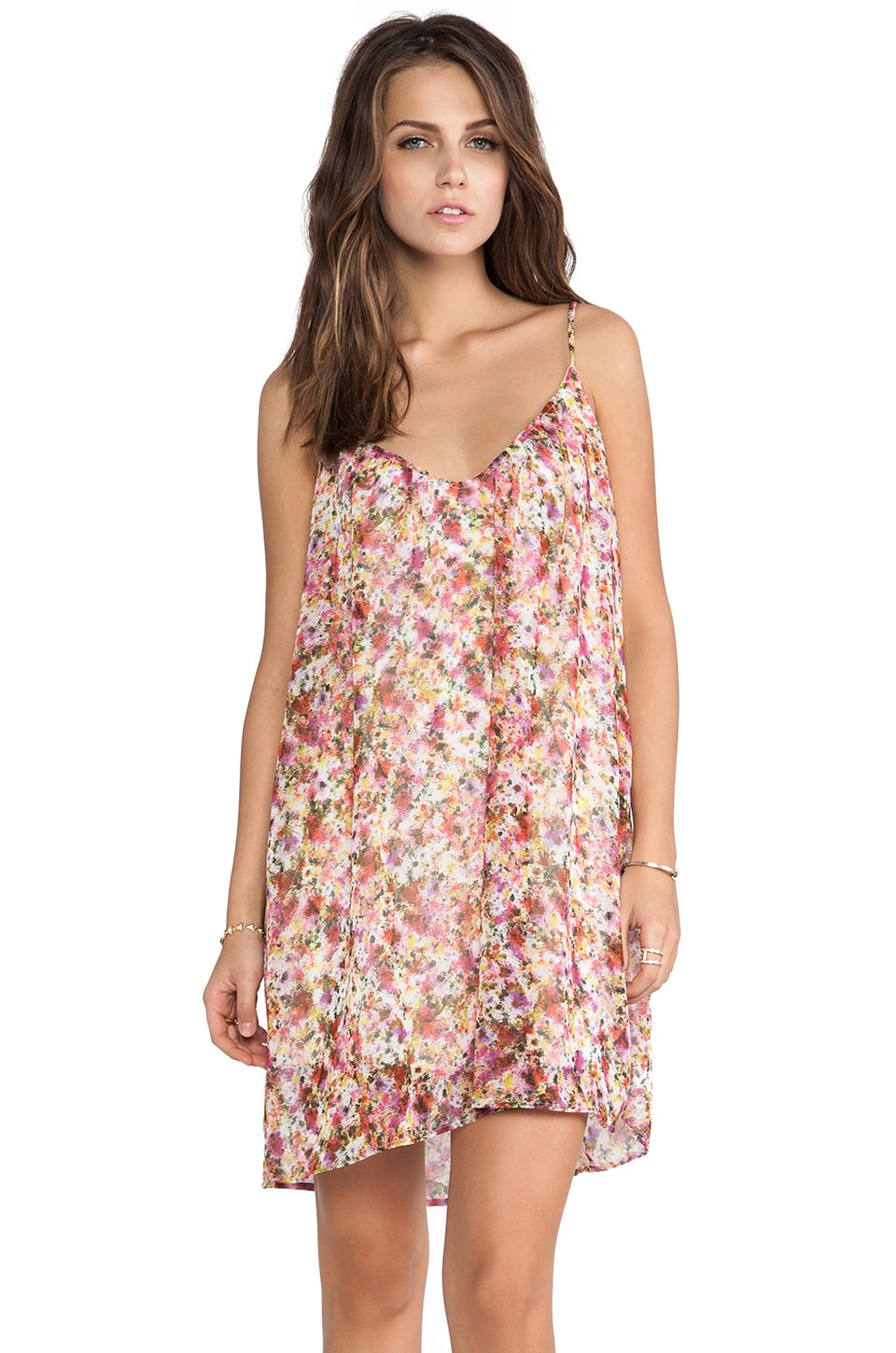 Eight Sixty Dress in Pink Multi
