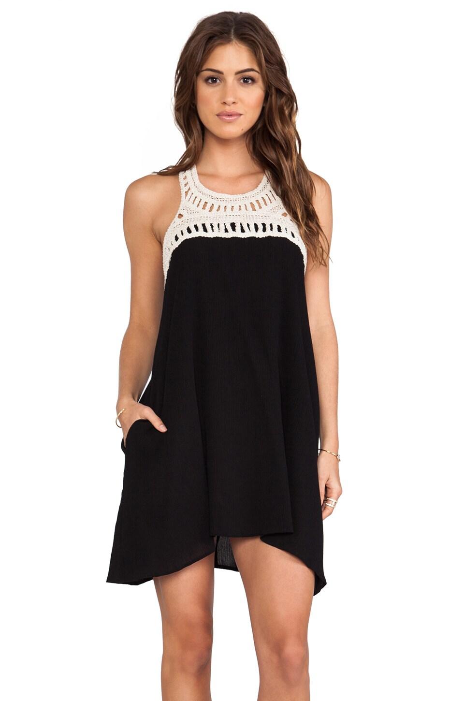 Eight Sixty Gauze Dress in Black