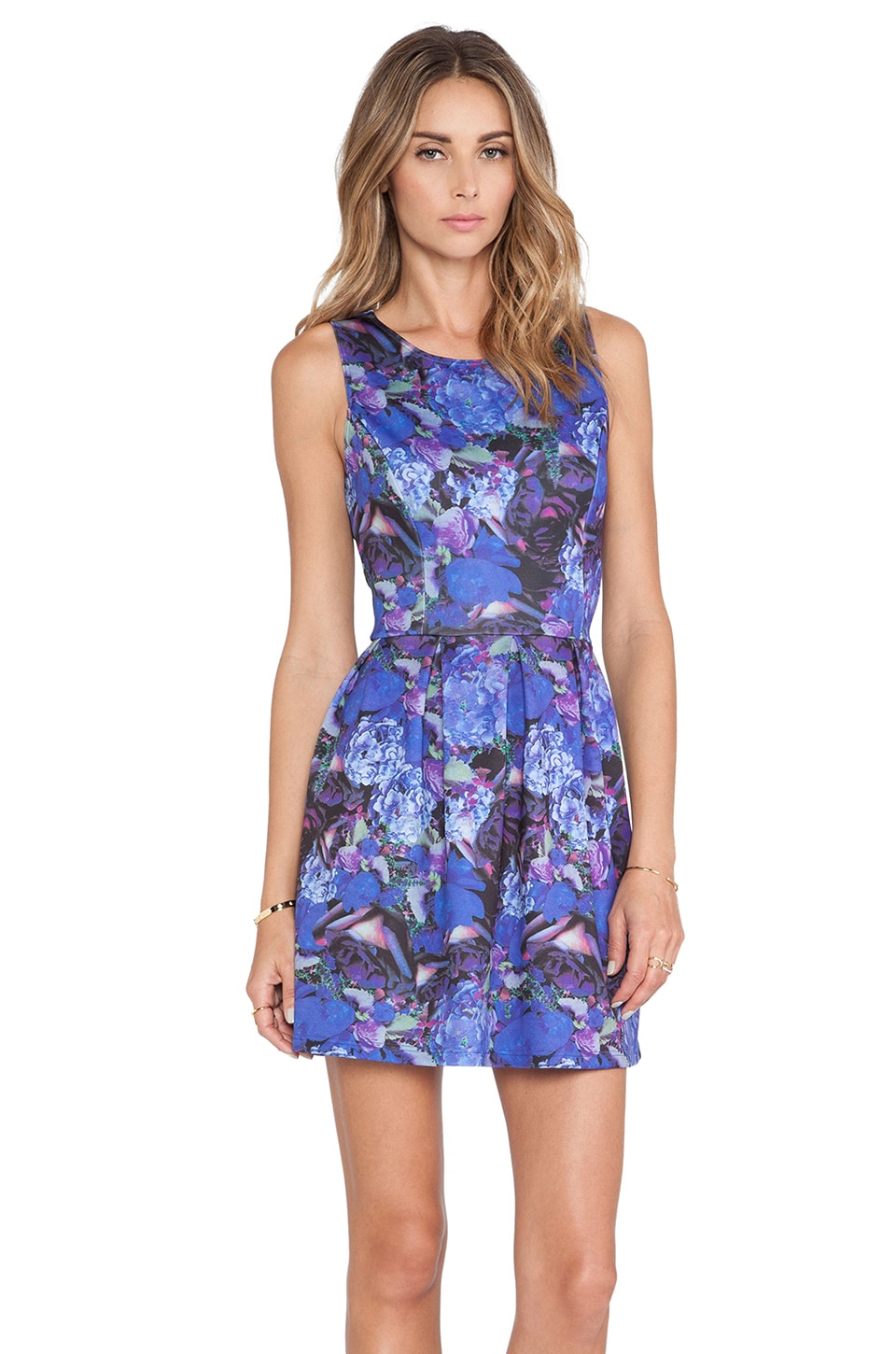 Eight Sixty Dress in Cobalt Multi