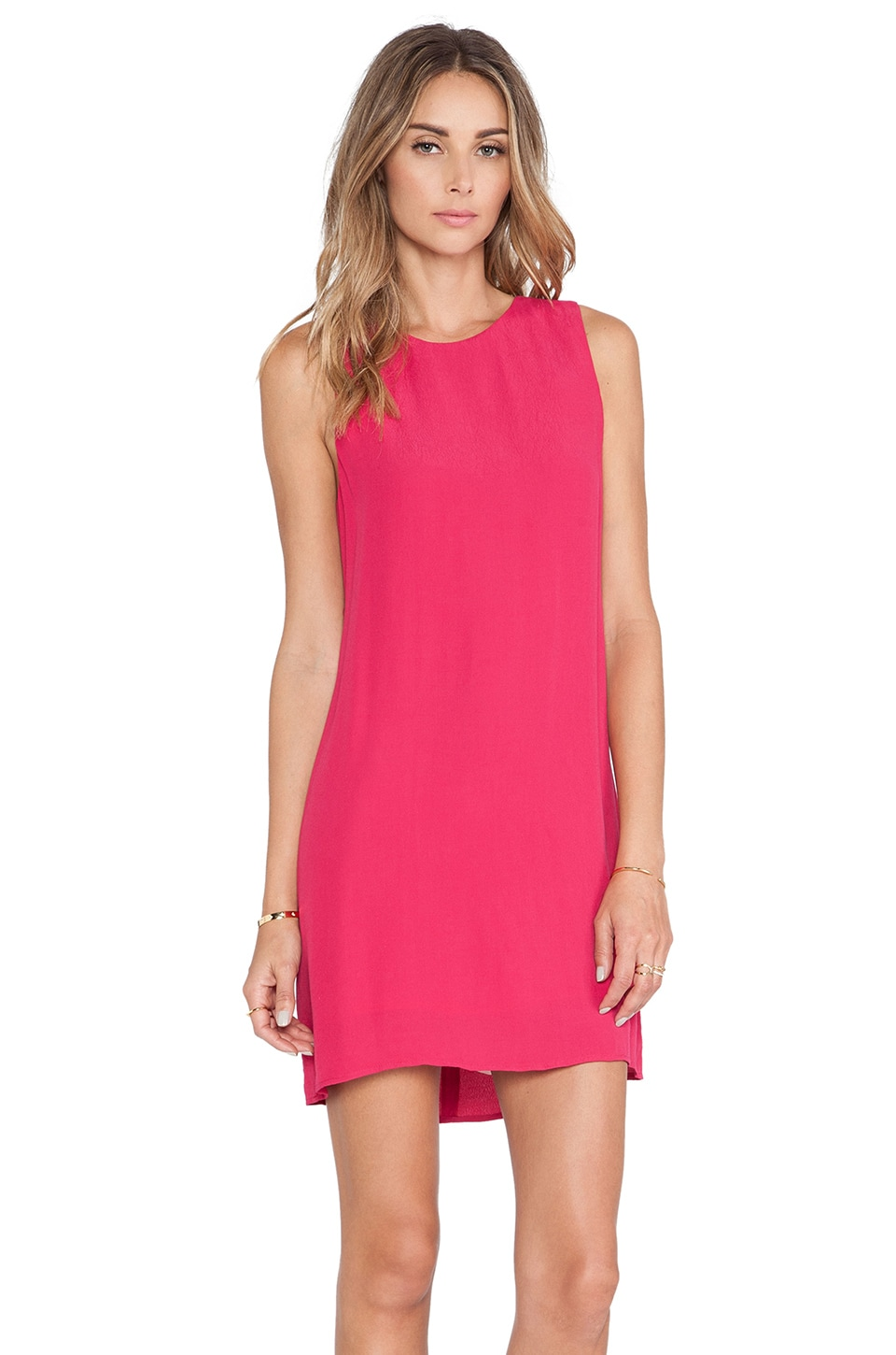 Eight Sixty Shift Dress in Solid Azela