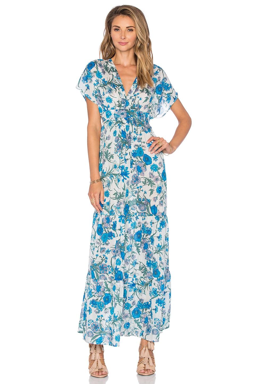 Eight Sixty Jenny Hutt Maxi Dress in Blue