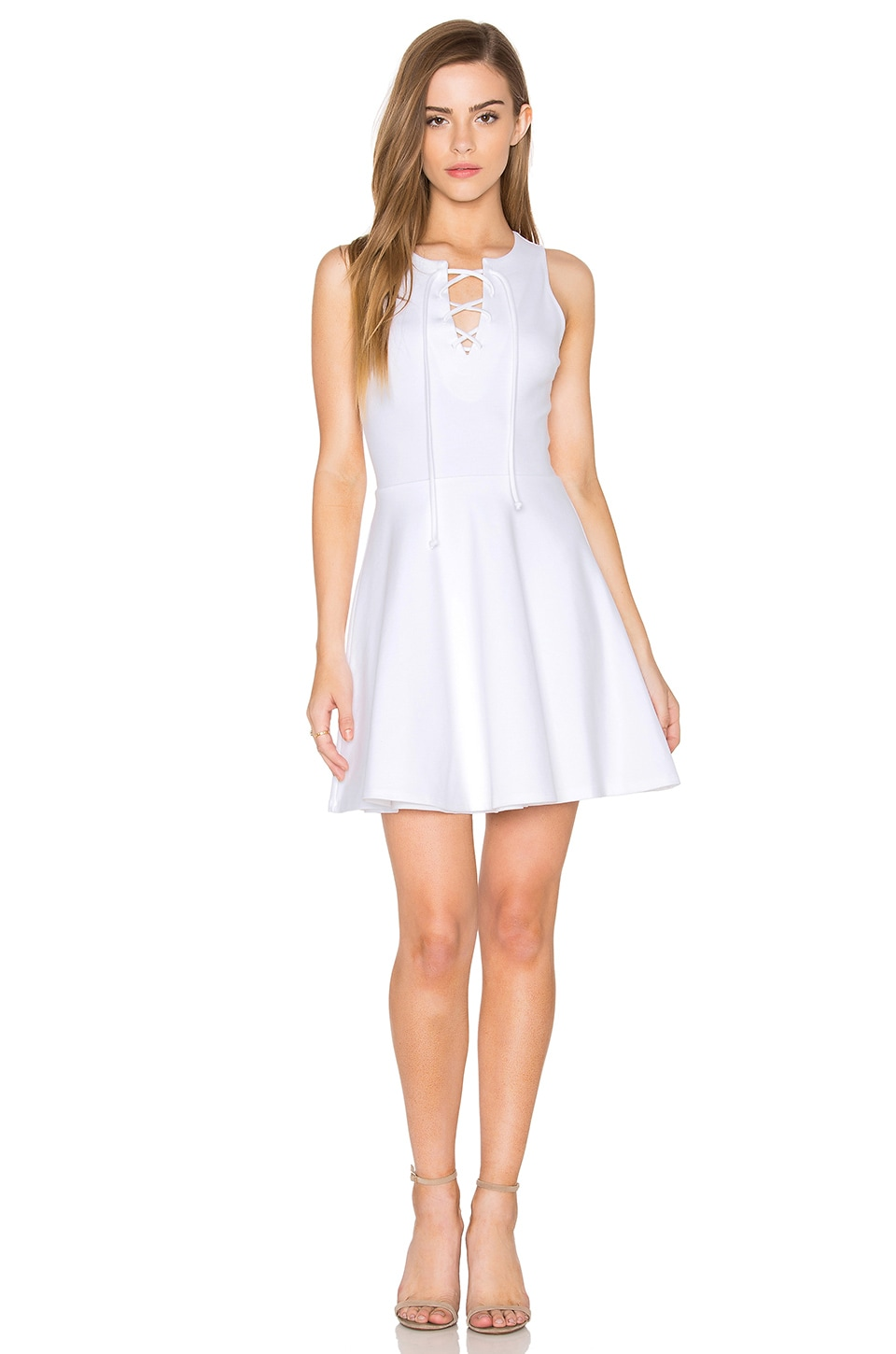 Buy Sleeveless Lace Up Mini Dress by Eight Sixty
