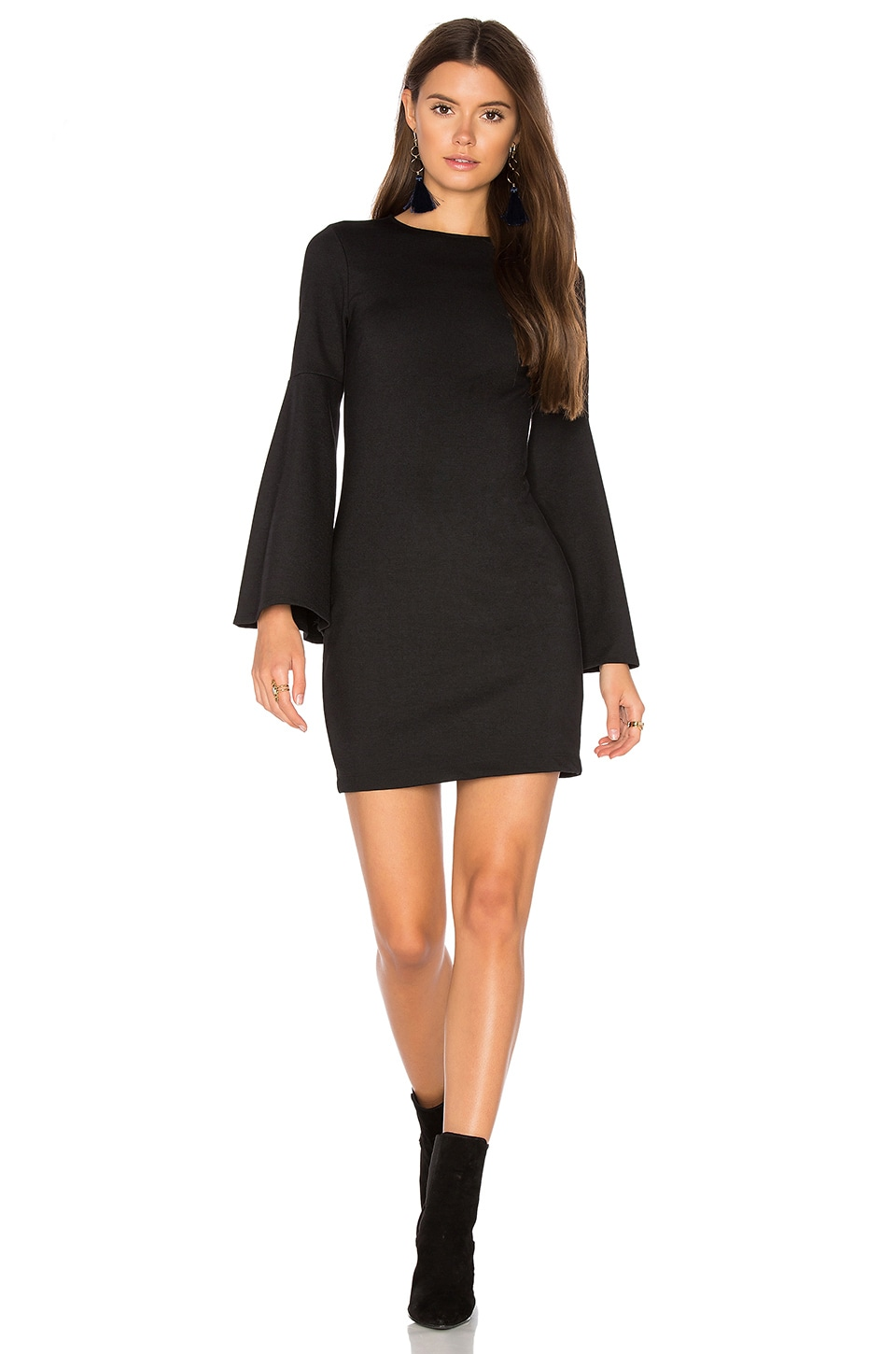 Bell Sleeve Dress by Eight Sixty