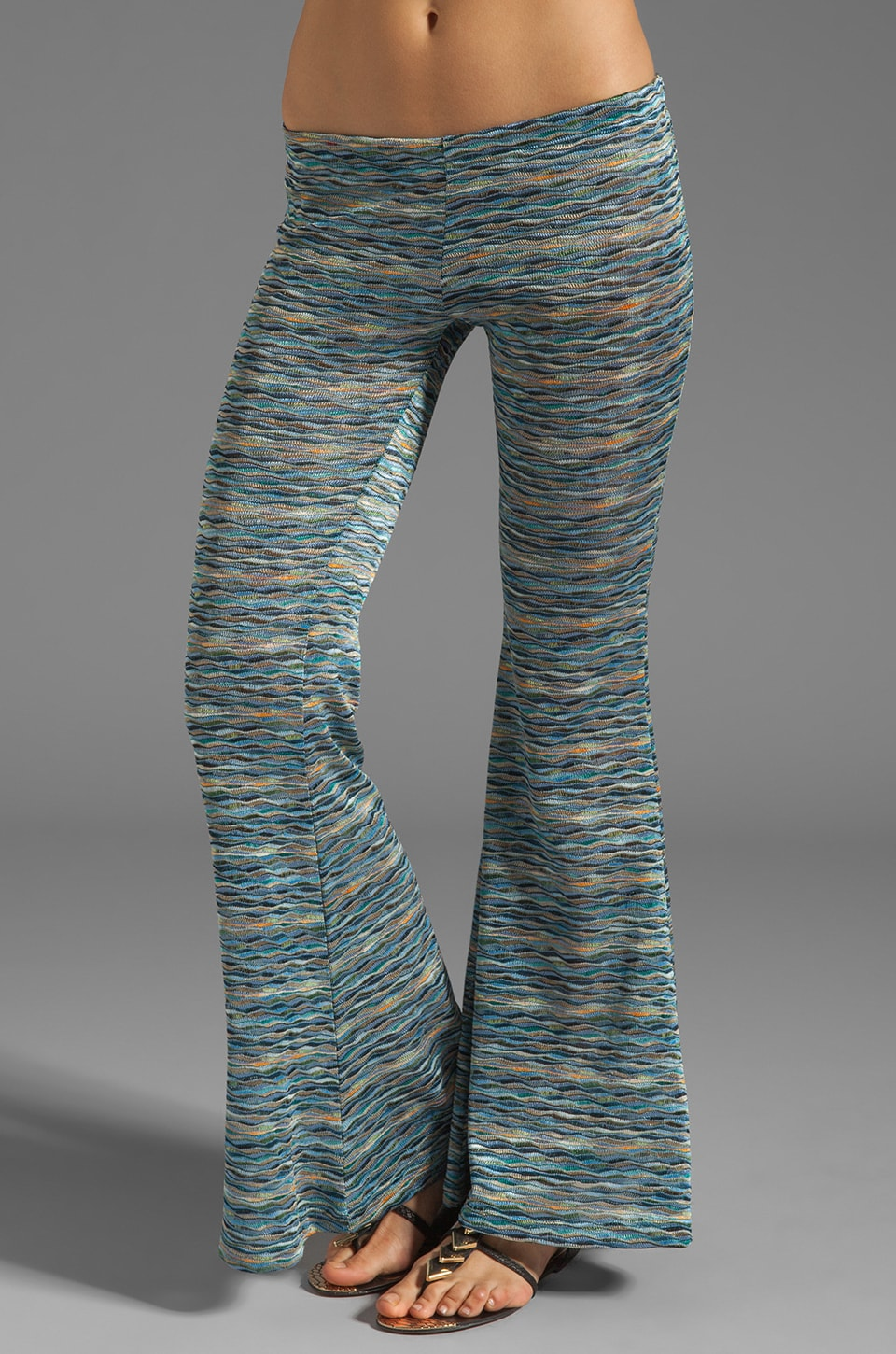 Eight Sixty Pants in Blue/Green
