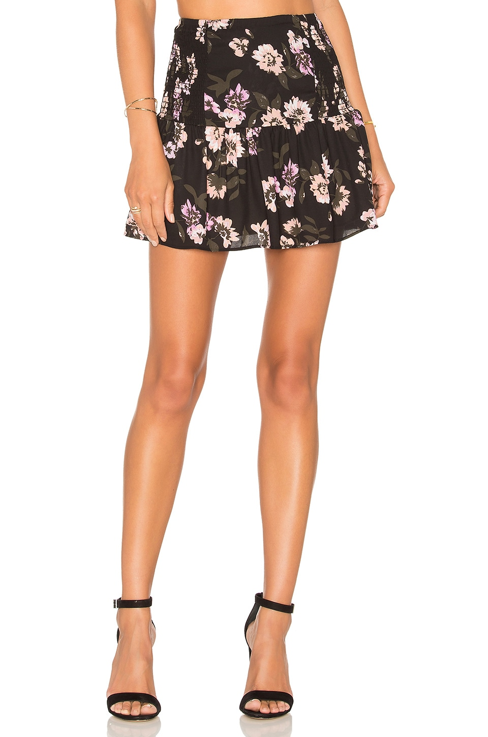 Peach Blossom Mini Skirt by Eight Sixty