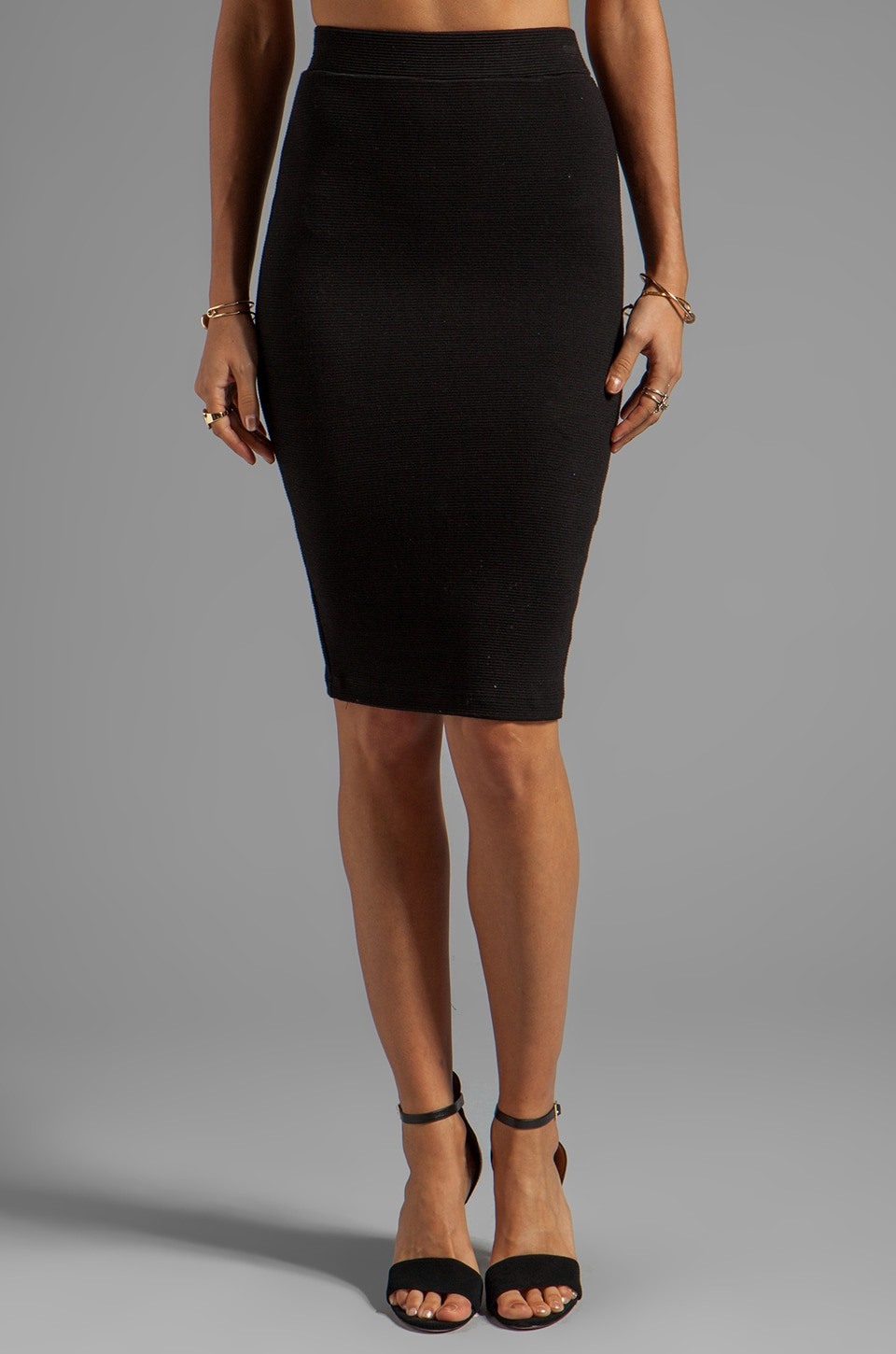 Eight Sixty Pencil Skirt in Black