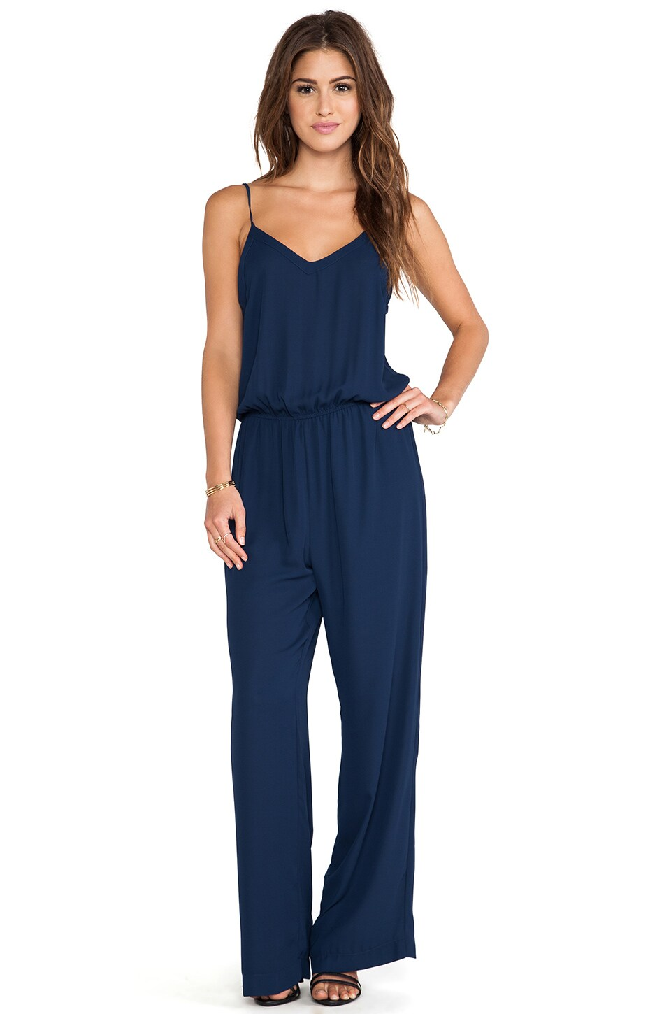 Eight Sixty Jumpsuit in Navy