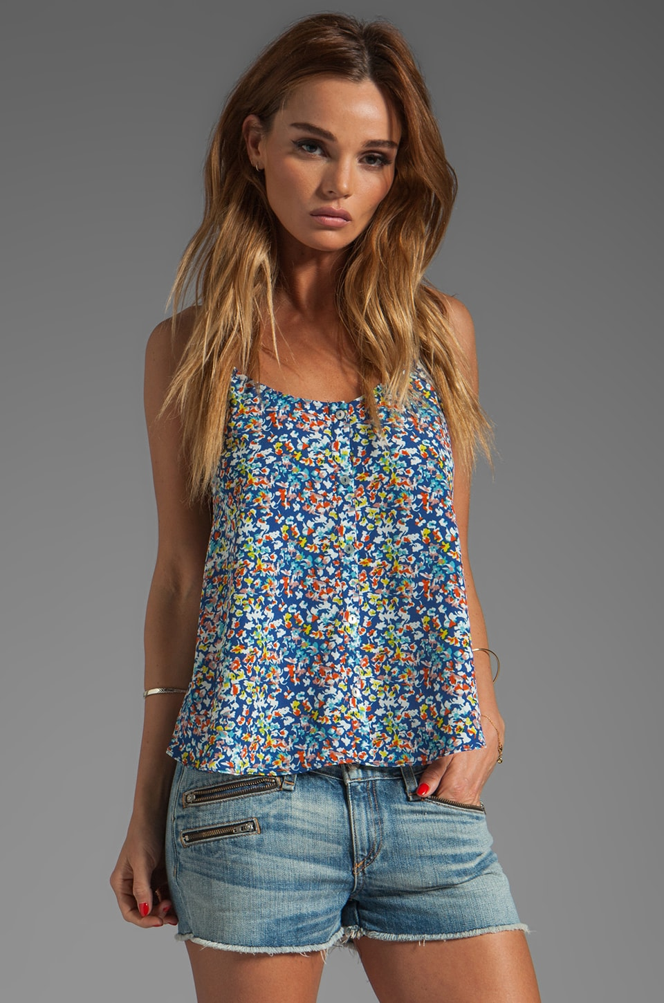Eight Sixty Cami in Laurel Floral