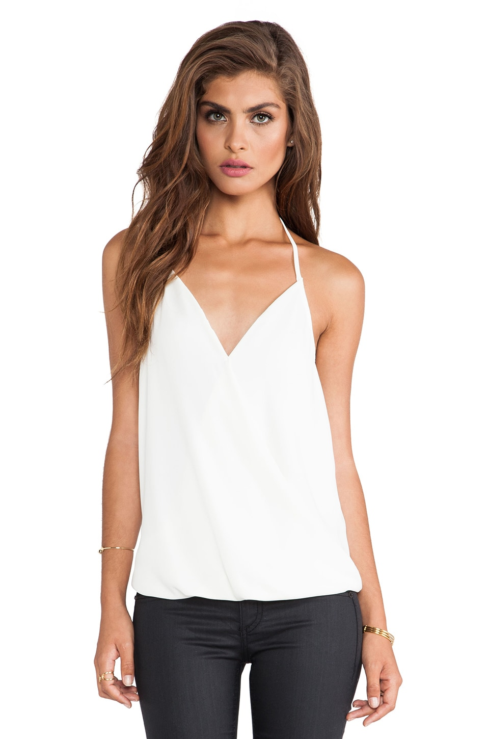 Eight Sixty Halter Top in White