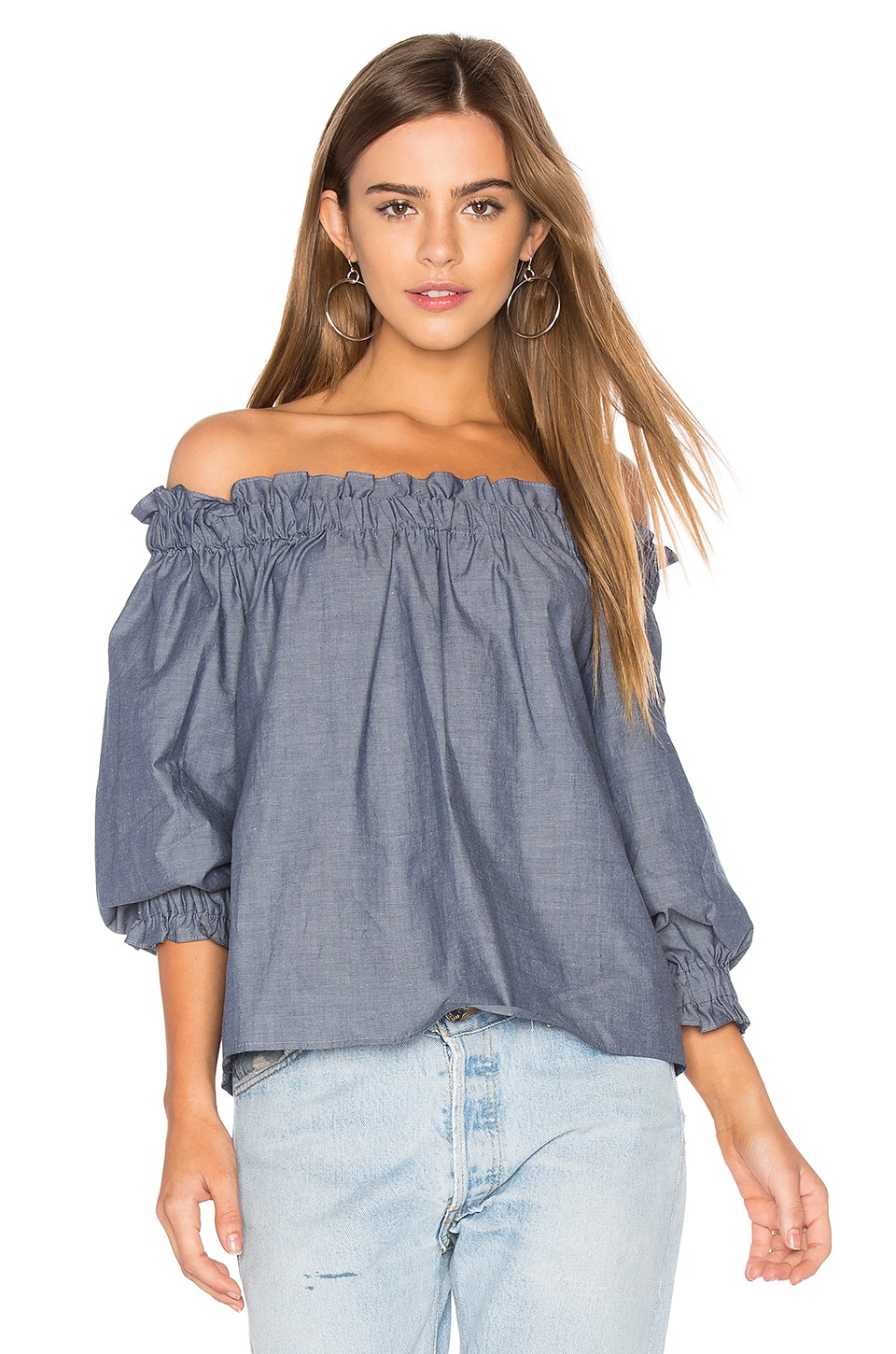 Off Shoulder Top by Eight Sixty